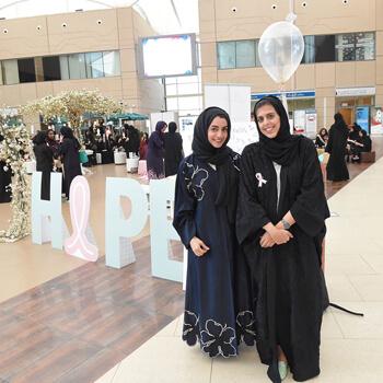 Zayed University students raise breast cancer awareness