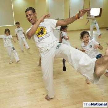 Brazilian martial art 'saved' capoeira mestre
