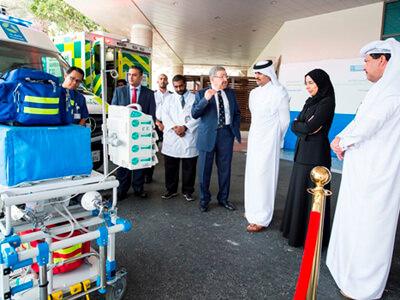 Health Minister inaugurates Qatar neonatal transport program