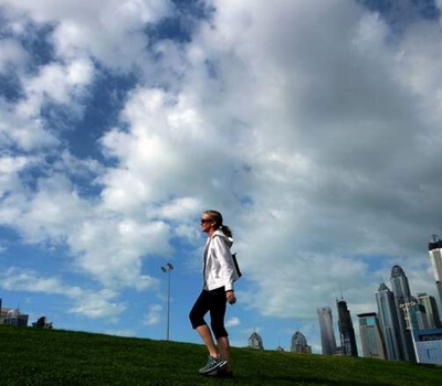 Exercise, soak up the sun to stay fit this UAE winter