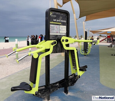 Outdoor exercise all the rage at UAQ's corniche