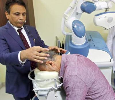 Robot fixes baldness for Dh45,000 in Dubai