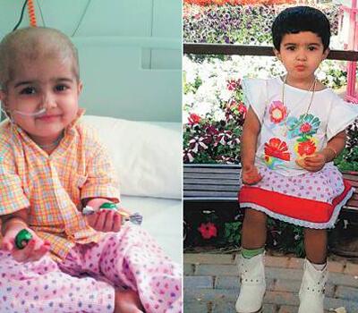 Three-year-old Dubai expat needs urgent bone marrow transplant