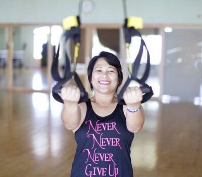 Breast cancer survivor is an inspiration to all
