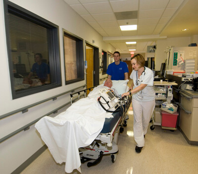 Hospital complains that 40 per cent of A&E visits are non-emergency