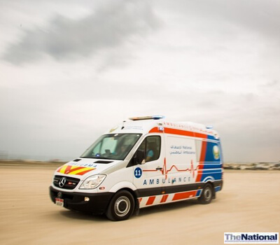 Ambulance Response Times in the Northern Emirates Cut by Half