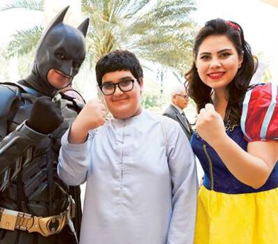 Dubai Hospital marks International Childhood Cancer Day