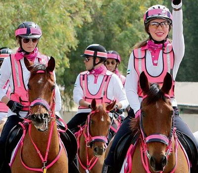 Pink caravan begin mission on March 7