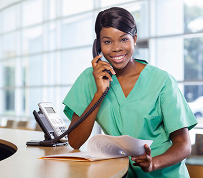 Medical advice being just phone call away