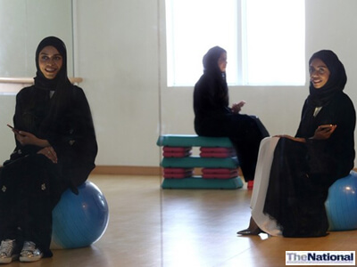 UAE Portrait of a Nation: Emirati sisters' fitness centre attracts local clientele