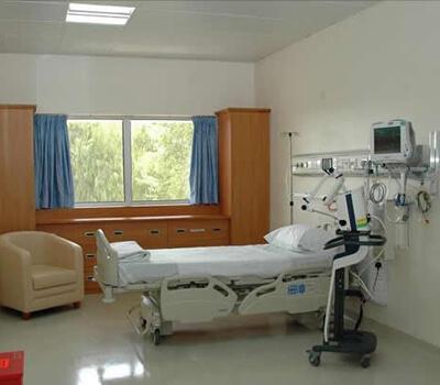 Dh4 Billion Hospital in Abu Dhabi 80% Complete