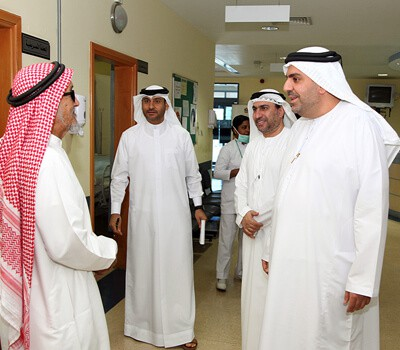 MoH & Prevention Inspects Medical Centers in Sharjah and Fujairah