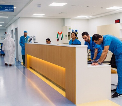 Non-emergency patients told Dubai hospital's new unit is for trauma, not drama