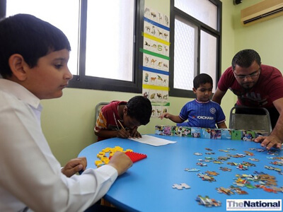 The National readers save RAK autism centre