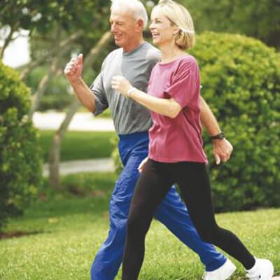 Walking an inexpensive way to good health