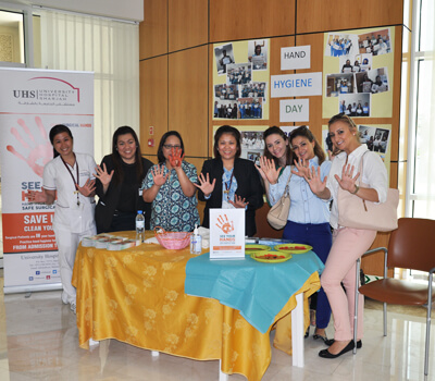 World Hand Hygiene Day celebrated at UHS