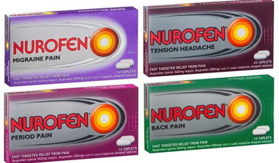 Nurofen painkiller safe to use, says health ministry