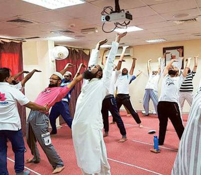 Yoga finds resonance with fasting residents in Dubai