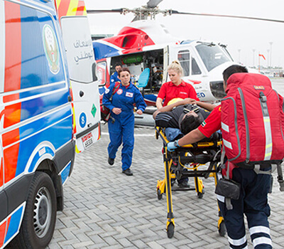 Ambulances acquired to cover the Northern Emirates