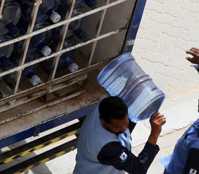 Smart system to ensure safety of five-gallon water bottles in Dubai