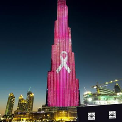Burj Khalifa to glow pink for cancer awareness