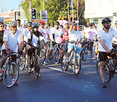 Dubai cyclists to raise funds for breast cancer patients