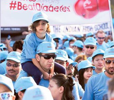 Eighth Beat Diabetes Walk in Dubai on November 18