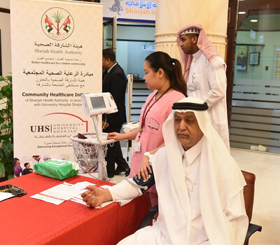 SHA and UHS conducts health awareness event for SEDD