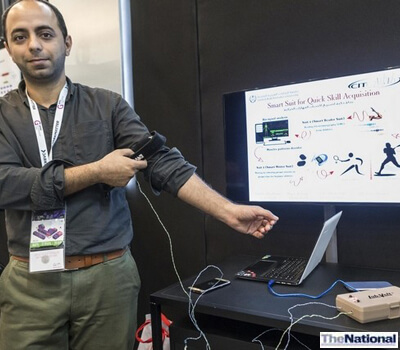 Smartsuit devised in UAE can help stroke victims