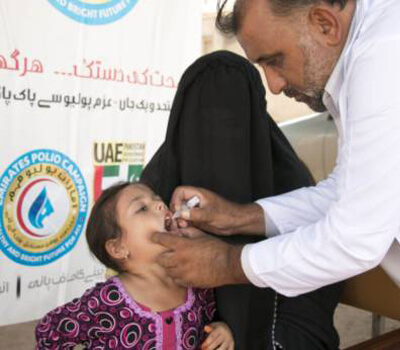 UAE efforts key in fight against polio