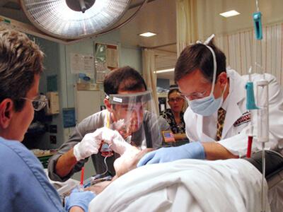 Boy with head trauma saved at Rashid Hospital