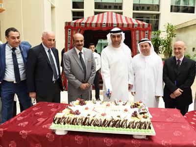 University Hospital Sharjah Commemorates 45th UAE National Day
