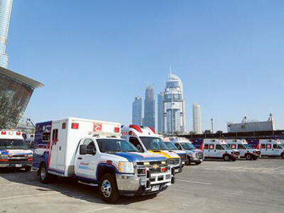 DHA ready with medical aid during New Year festivities