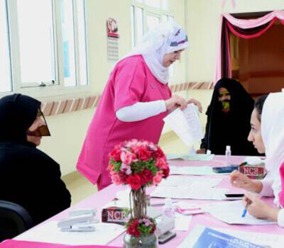 Pink Caravan calls on doctors and nurses to join its ride