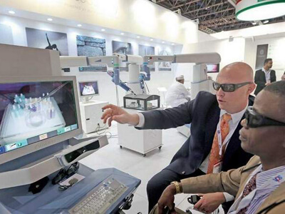 Robots and bio-printing change the face of surgery in UAE